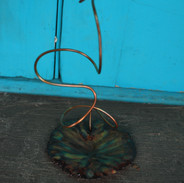 Flying High Lily Pad Dragonfly Trinket t