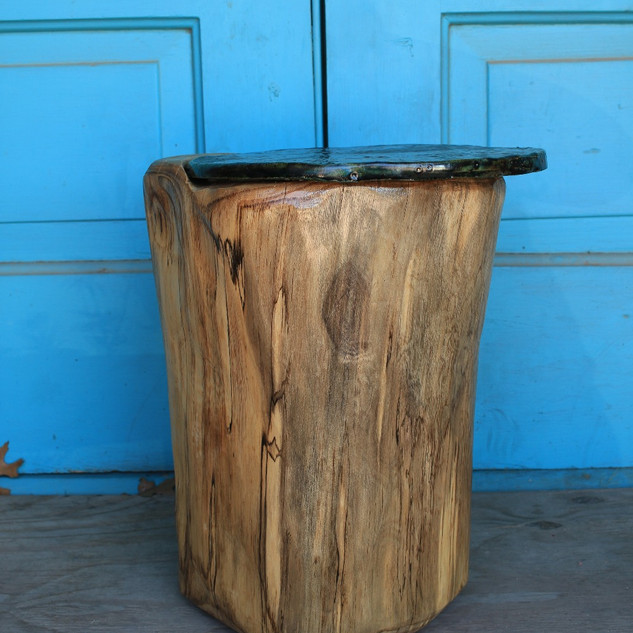 Raku Accent Table Side