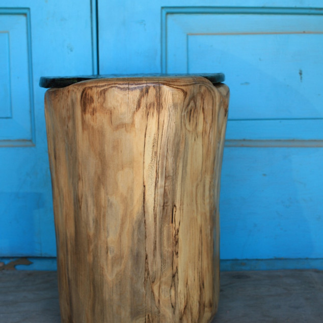 Raku Accent Table Back
