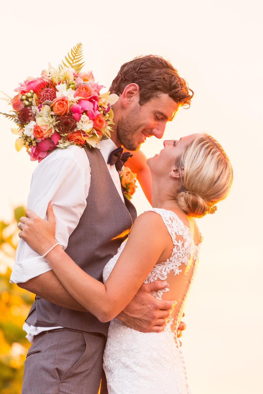 outdoor wedding bouquet
