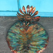Sunflower Large Lily Pad Trinket Tray