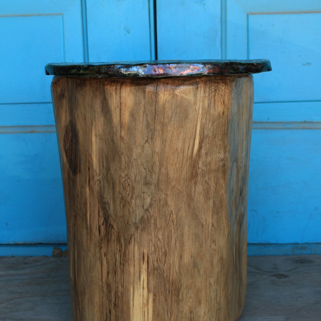 Raku Top Accent Table/Stool