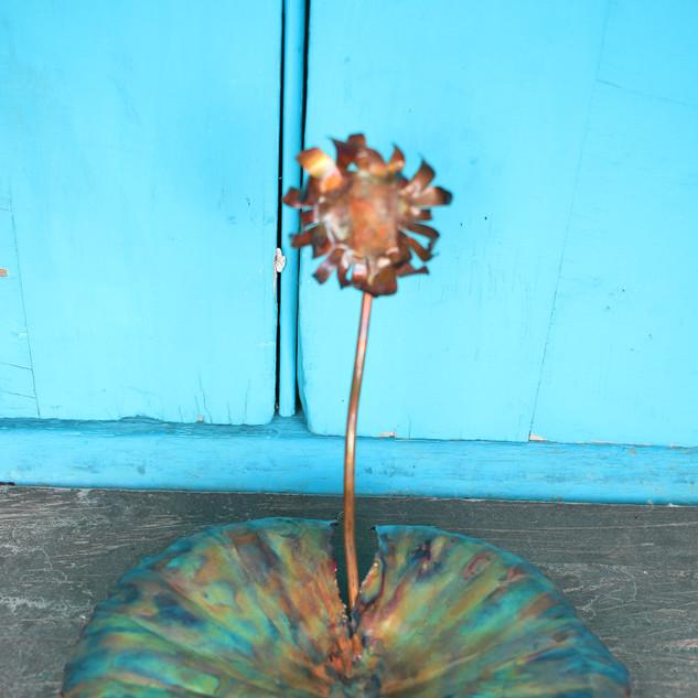 Crazy Daisy Medium Lily Pad Trinket Tray