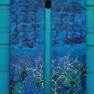 Coral Reef Diptych