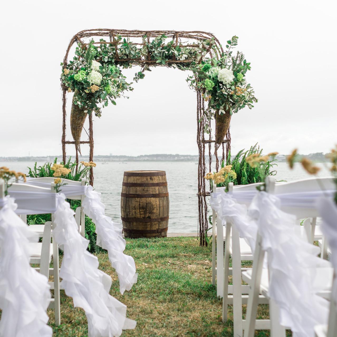 bayside wedding