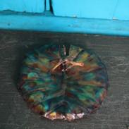 Blue Splash Small Lily Pad Trinket Tray