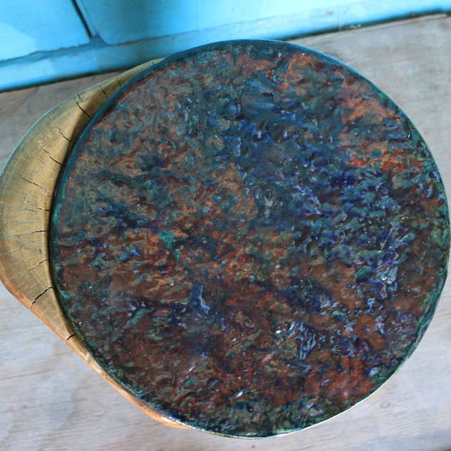 Raku Accent Table Top