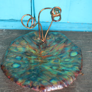 Spirals Large Lily Pad Trinket Tray