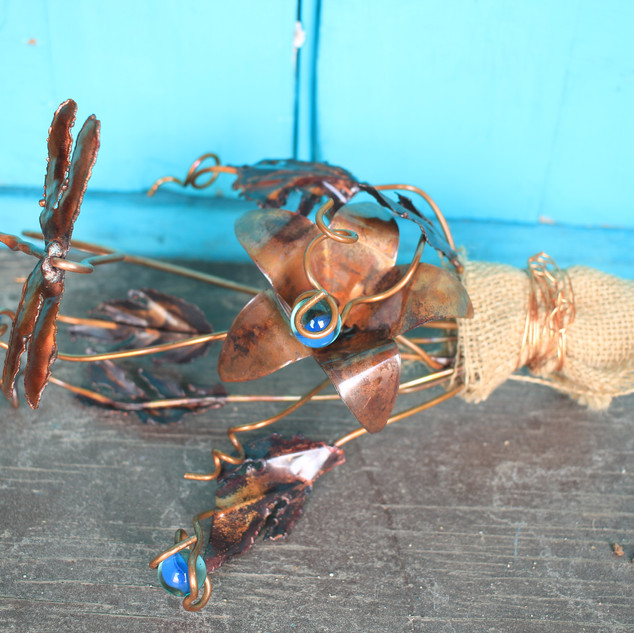 Blue Dragonfly Bouquet