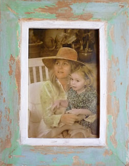 gift art frame vintage photo
