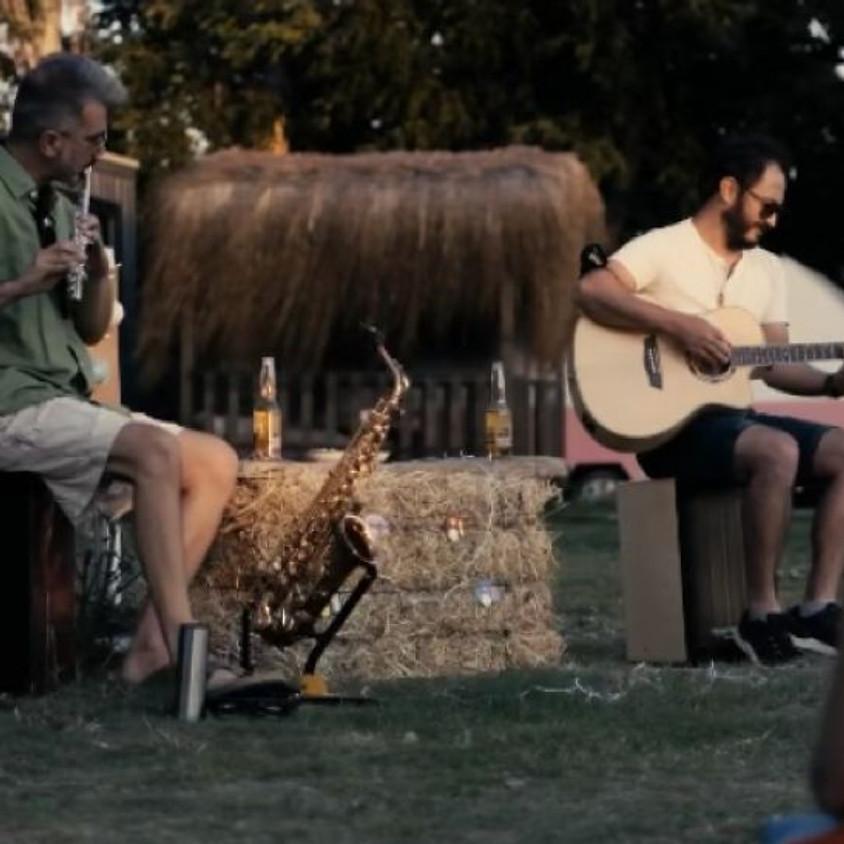 Indie music in the garden