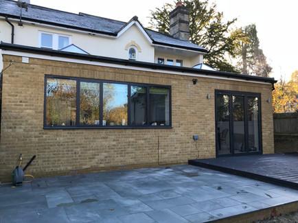 Single storey kitchen extension in Tunbridge Wells