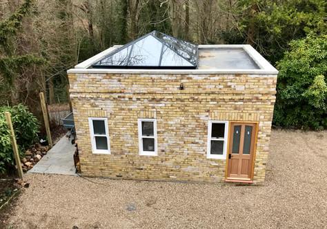 New build Garage and office in Tunbridge Wells, Kent