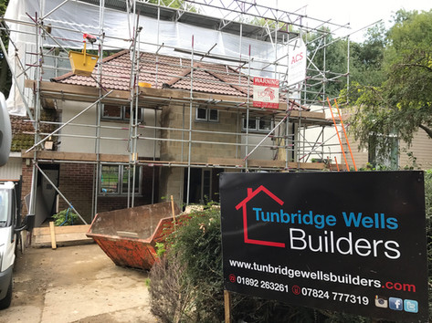Double storey extension and full house refurbishment in Sevenoaks, Kent