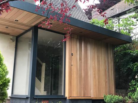 Porch with secret front door