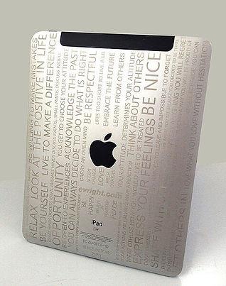 iPad Laser Engraving Service