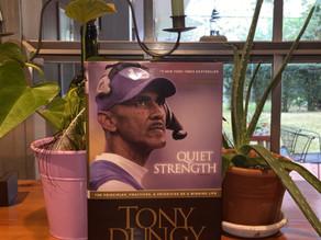 Betsy's Bookshelf: Quiet Strength by Tony Dungy