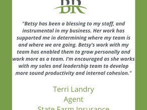 Kind Words from Terri Landry