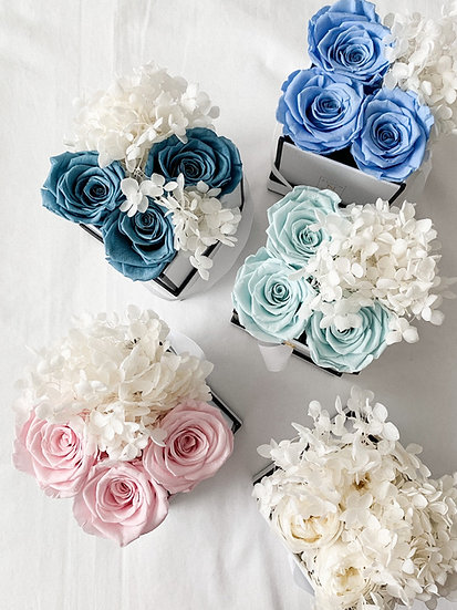 The Charming 4 - Classic Rose & Hydrangea Edition