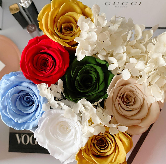 Pretty 9 - Classic Rose & Hydrangea Edition