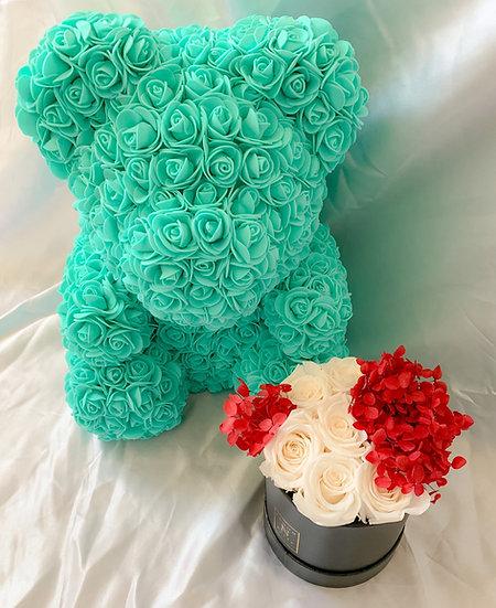 "16"" Flower Bear"