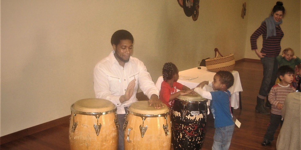 Healing Through Drums