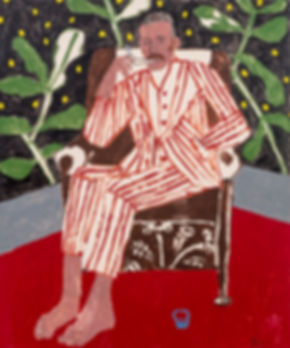 danny_fox_BarefootWithStripedSuit5x6ft.j