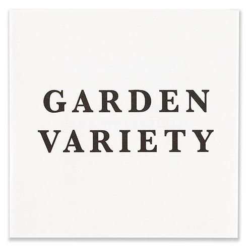 Jack Whitefield / Garden Variety