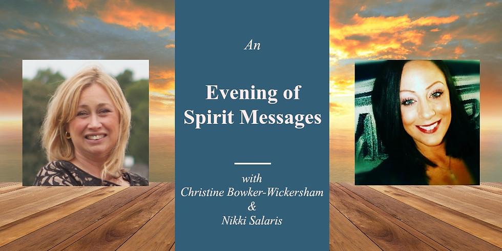 An Evening of Spirit Messages with Christine & Nikki