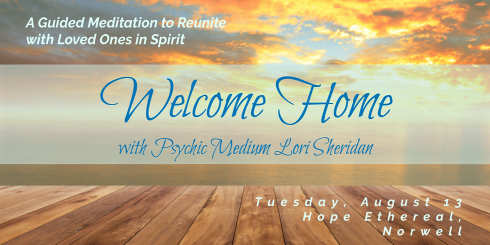 Welcome Home Meditation with Lori Sheridan