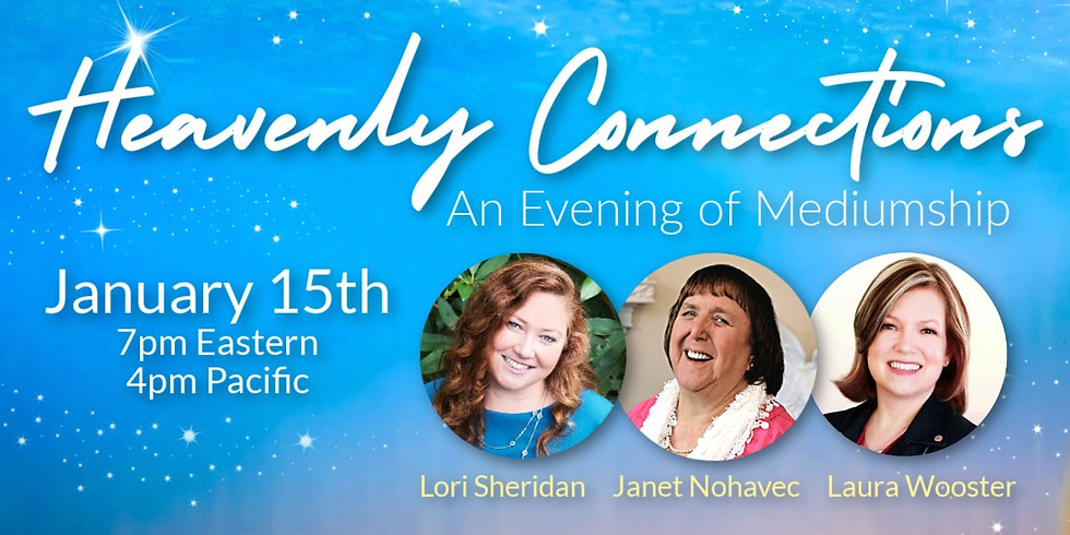 Heavenly Connections | An Evening of Mediumship (1)