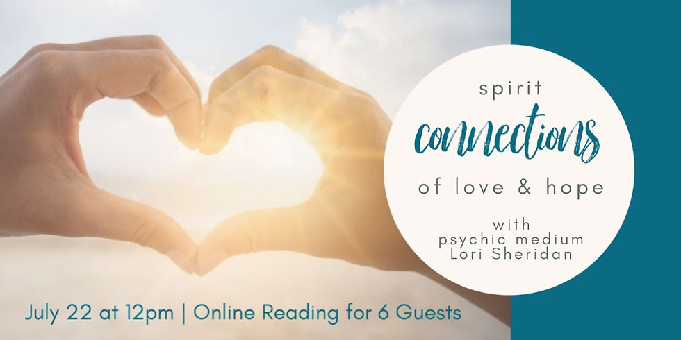 Spirit Connections of Love & Hope   Online Small Group