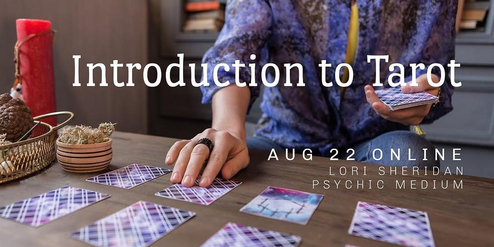 Introduction to Tarot with Lori Sheridan | Online