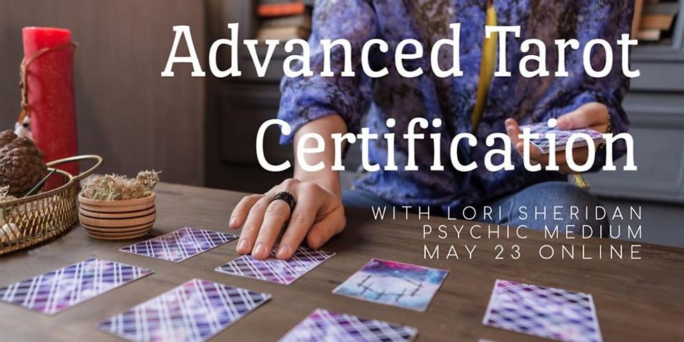 Advanced Tarot Certifcation wth Lori Sheridan | Online