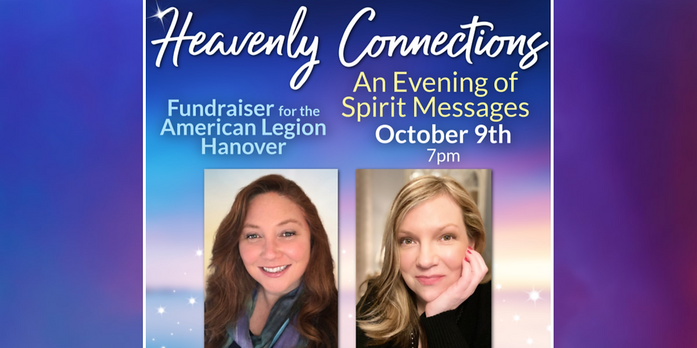 An Evening of Spirit Messages with Lori Sheridan & Laura Wooster to Benefit Veterans Charities