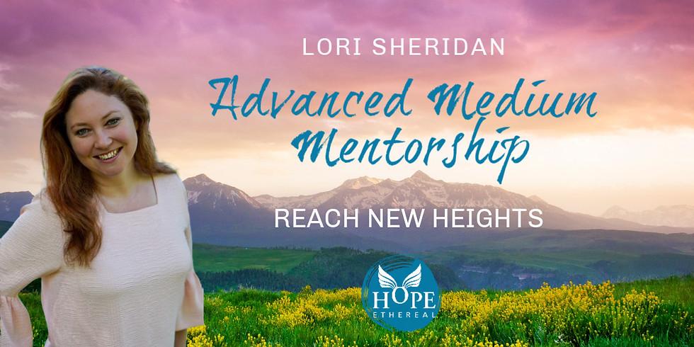 Advanced Medium Mentorship with Lori Sheridan | Online