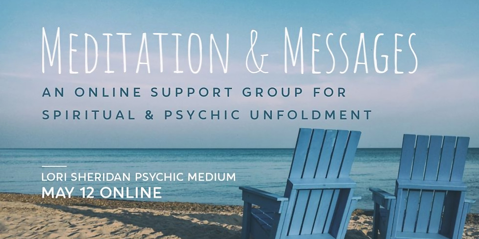Meditation & Messages with Lori Sheridan   Online