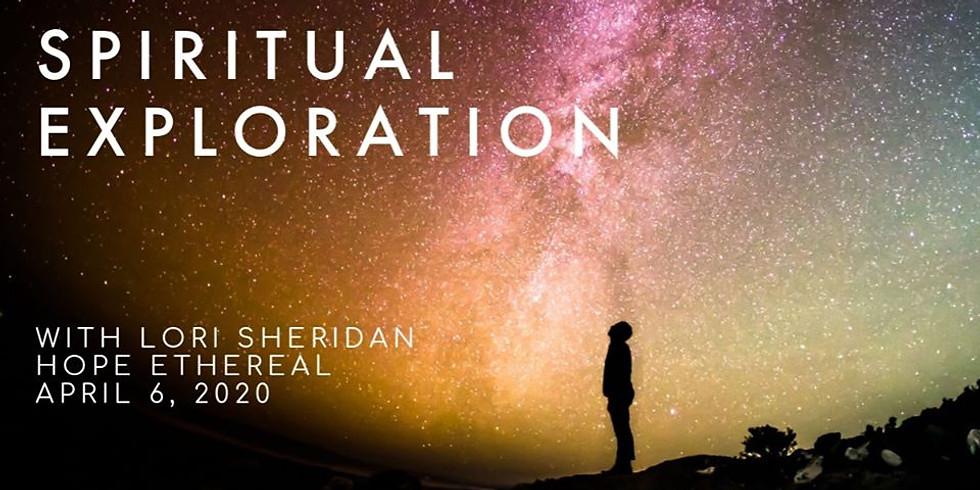 Spiritual Exploration on Zoom with Lori Sheridan