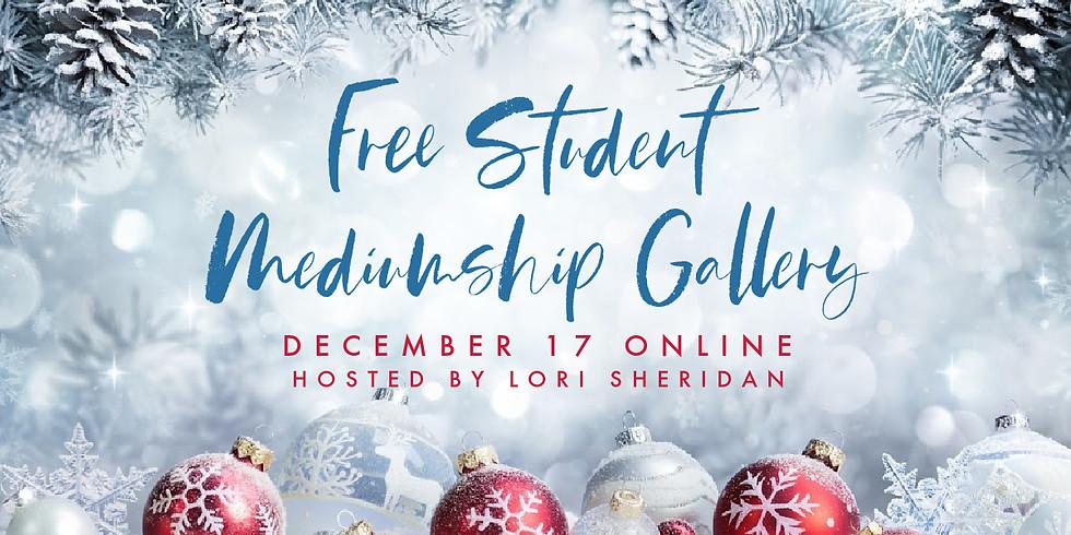 FREE Student Holiday Mediumship Gallery | Online