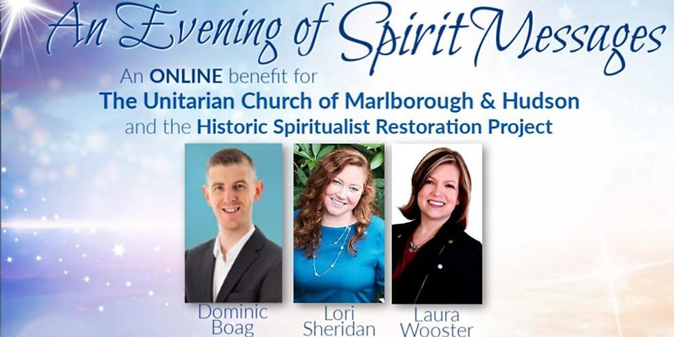 An Evening of Spirit Messages | Online fundraiser