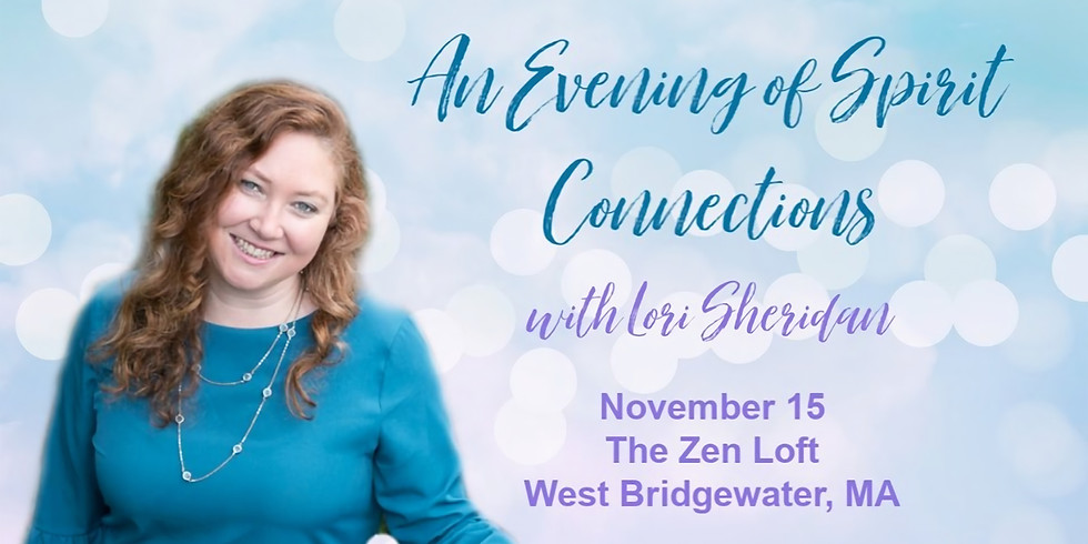 Evening of Spirit Connections with Lori Sheridan