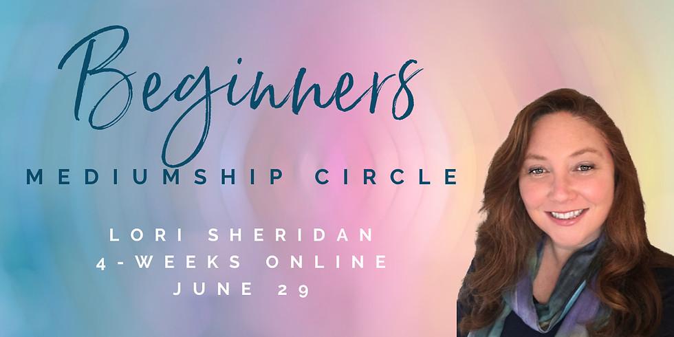 Beginners Mediumship Circle with Lori Sheridan | Online