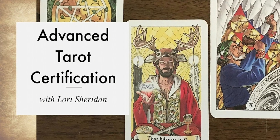 Advanced Tarot Certification with Lori Sheridan