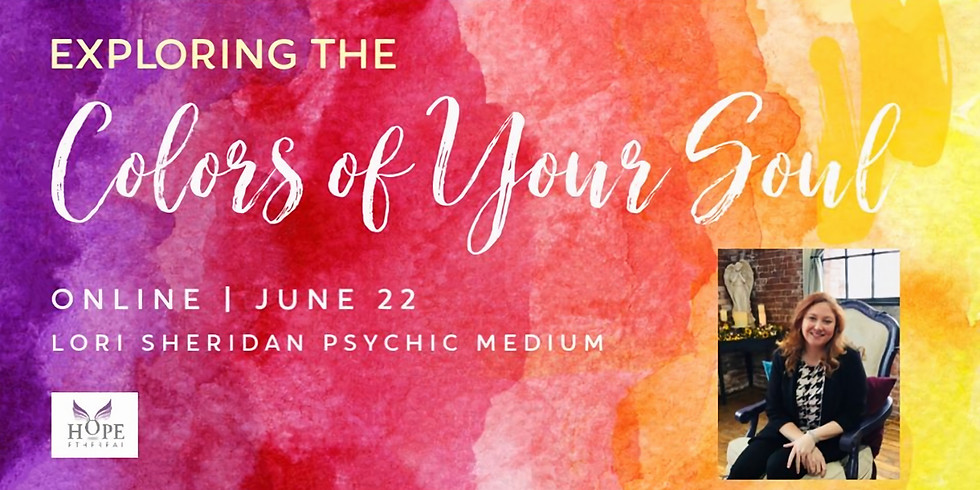 Explore the Colors of Your Soul with Lori Sheridan   Online