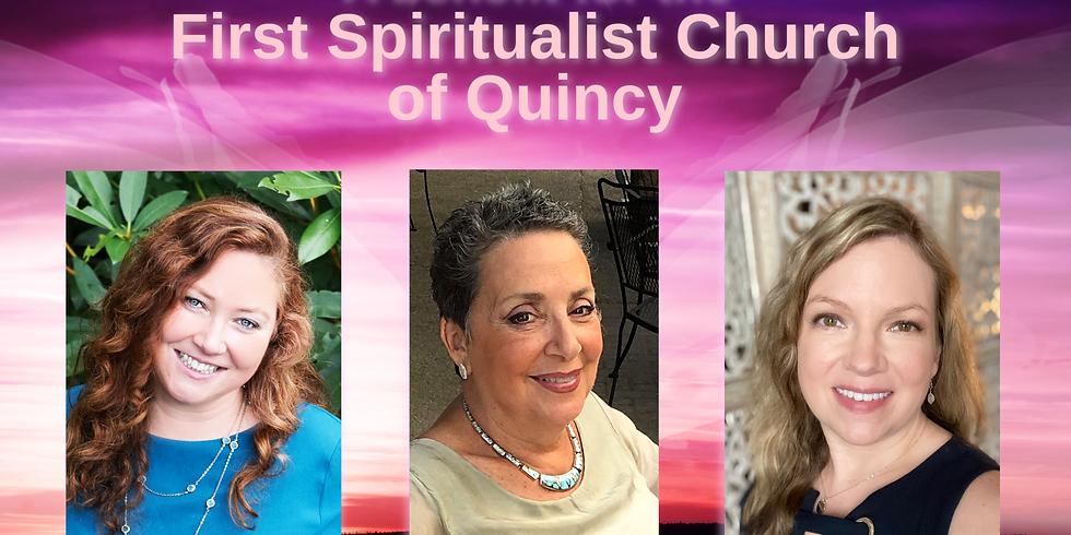 SOLD OUT! An Evening of Mediumship & Spirit Art for First Spiritualist Church of Quincy