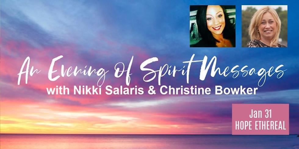 Spirit Messages with Christine & Nikki