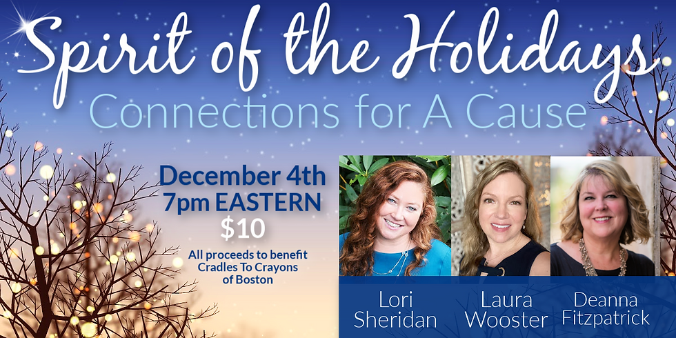 Spirit of the Holidays   Connections for a Cause Online