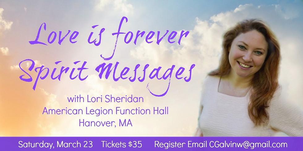 Evening of Spirit Messages | Fundraiser for Veteran's Charities