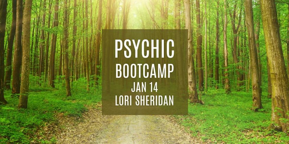 Psychic Bootcamp with Lori Sheridan
