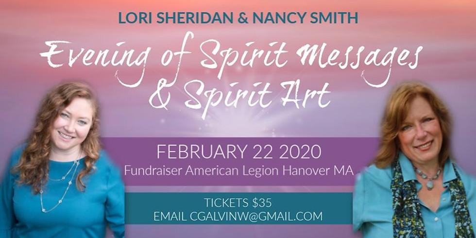 Evening of Spirit Messages & Spirit Art Fundraiser | Hanover MA